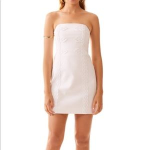 Lily Pulitzer Tansy Strapless Dress (White)